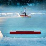 Pond Hockey Rinks on Lake Morey