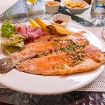 Grilled Trout at a Restaurant in Quito