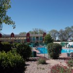 Days Inn, Cerrillos Rd, Santa Fe NM. BEAUTIFUL POOL.