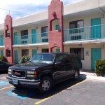 Days Inn, Cerrillos Rd, Santa Fe NM. Parking at my door.
