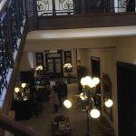 Delightful top floor bedroom and beautiful reception area.