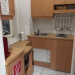 Small kitchenette, but well equipped