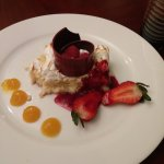 Tres Leches cake ordered to our room