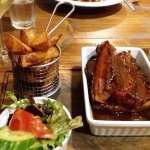 Belly pork and rib combo