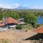 Temple looking at Tulamben Bay