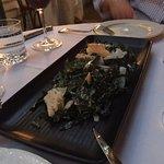 Black Kale Caesar Salad