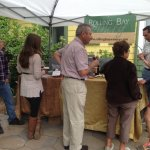 Regular wine tasting events on our patio...