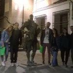 Amigos madrileños y panameños conociendo los aspectos más desconocidos de la ciudad, muchas grac