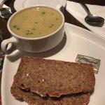 Soup and soda bread