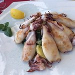 Squid - a generous portion, perfect!