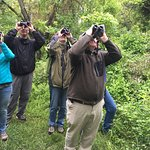 Potomac Valley Audubon Society holds many bird walks at the preserve