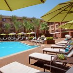 Relax by the pool with a full bar and food service for your convenience.