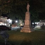 Statue on Courthouse grounds of General Granbury