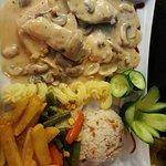 main of mushroom chicken