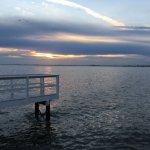 Dock for fishing or enjoying view of Tampa Bay