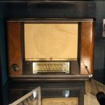 A wartime radio