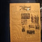 Newspaper from the time