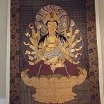 Ancient buddha print