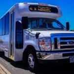 Brand new 25 passenger tour bus.