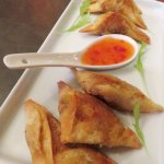 Indian Meat Samosa's - Zaza Bistro Tropical - Rio (10/May/17).