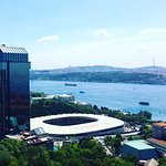 Bosphorus View from Room 1801