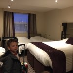 Absolutely lovely and very comfortable room! Even for a family!