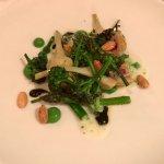 Brocolli & Young Buck Blue, Black Garlic, Almond
