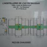 L'Hotel de l'Ile du Saussay Foto
