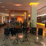 Live music in lobby by the restaurant