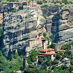 The monasteries on Meteora are reachable by 10 min ride bus or by hike