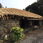 Check out the thatch roof