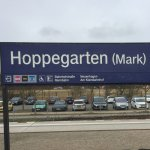 A five minute canter from the train station to Hoppegarten Racetrack