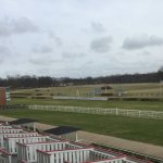 Classic sweeping turf course at Hoppegarten
