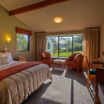 Stylish Rainforest Rooms look out to ancient rainforest
