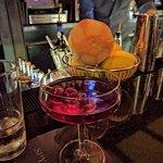 Spyglass special Manhattan cocktail.