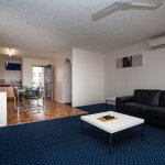 2 Bedroom Standard Living and Kitchen
