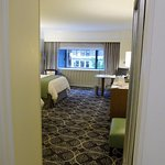 View to the Grand 2 Double Beds from the hallway (room 430)