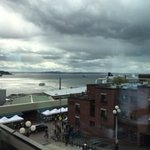 View from room...beautiful Puget Sound