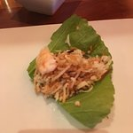 Miang Kum, which was like a spicy, sweet lettuce wrap - excellent!