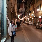 Beautiful Florence street, close to the Duomo.