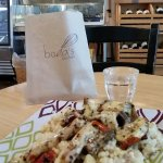 Boda's Warm lunch Chicken wGrilled Veggies & Couscous
