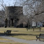 Old Stone Mill - Touro Park, Newport
