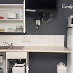 Family room kitchette