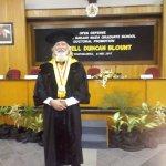 Ph.D. Graduation attended by Jogjakarta Plaza Hotel Staff.