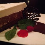 Chocolate mousse cheesecake, was EXCELLENT!