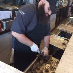 Andrew the awesome shucker