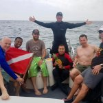 First day with Divemaster Mark