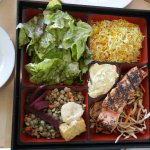 Salmon Bento box, excellent choice of lunch.