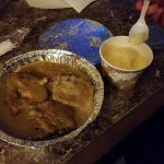 Bread pudding we brought back to our room