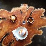 Coffee & Recycled Wood